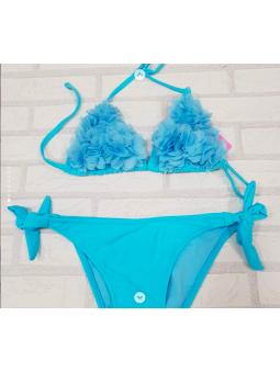 Bikini NIÑA aguamarina