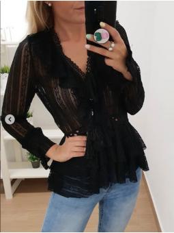 Blusa negra 2555