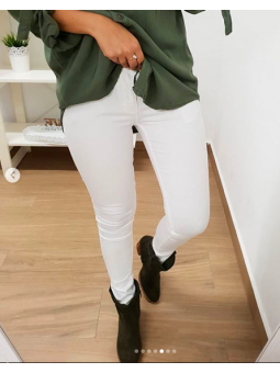 Pantalón largo blanco M5798