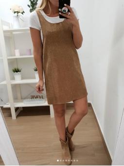 Pichi pana marrón + camiseta