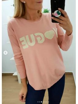 Sueter Vogue rosa 9662