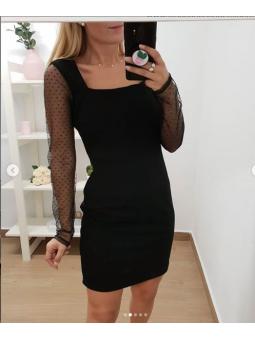 Vestido negro Valentina...