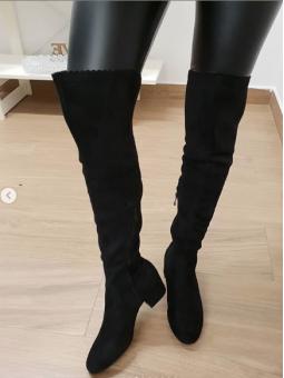 Bota alta negra 995-39 black