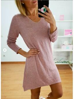 Vestido Anna rosa