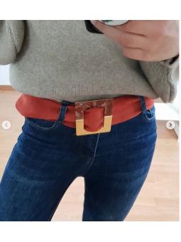 Cinturón cuadrado antelina...