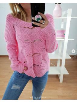 Suéter Camila rosa 3092