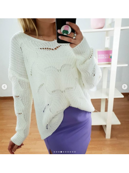 Suéter Camila Blanco 3092