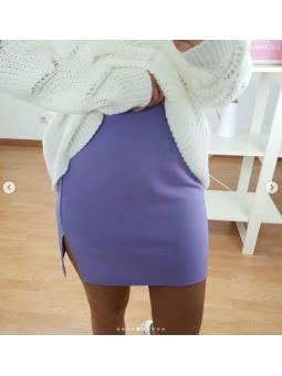 Falda lila 97024