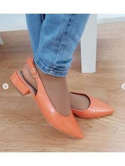 Zapato naranja 3911