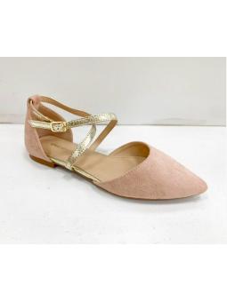 Zapato rosa detalles...
