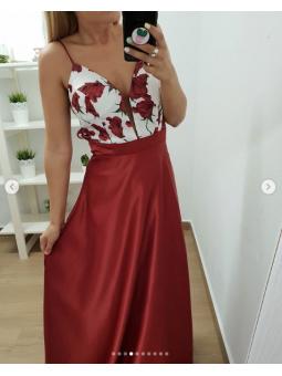 Vestido Carolina Rojo