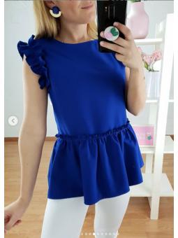 Blusa Carmen Azul klein