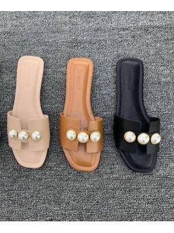 Sandalia perlas (1BP-0350)