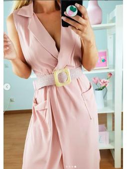 Cinturónengomado rosa...