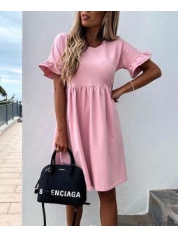 Vestido Eva rosa chicle