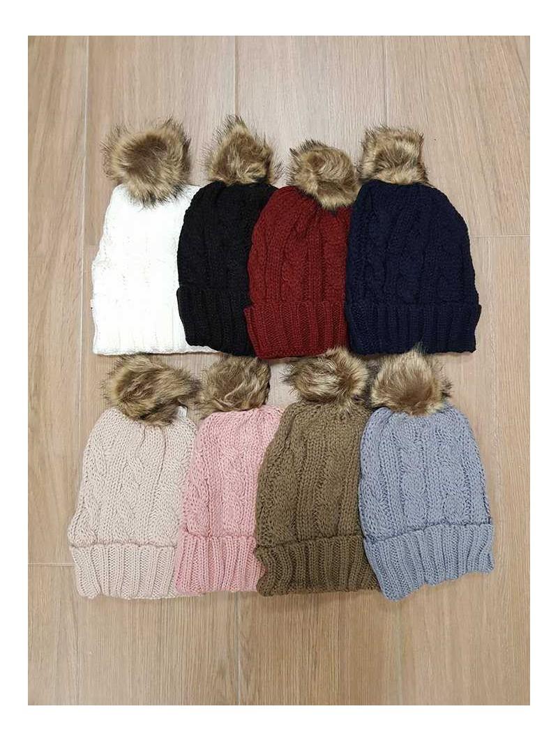 Gorro de lana pompón