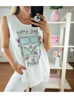 Camiseta tirantes furgoneta...