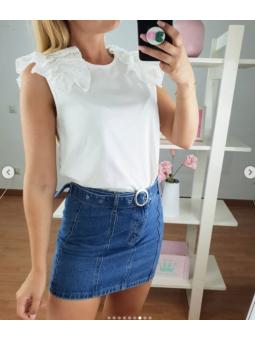 Camiseta blanca Lina...