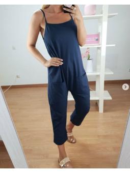 Mono bolsillos Azul Marino