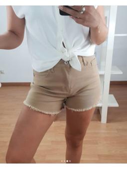 Pantalon Corto Camel...