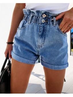 Pantalones cortos vaqueros...