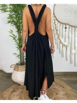 Vestido Negro Mireia nudo...
