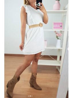 Vestido Calado blanco...