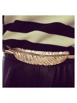 Cinturón pluma