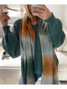 Suéter turquesa Lina