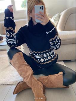 Suéter Winter Negro