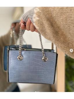 Bolso mini azul claro