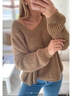 Suéter Camel Nataly 1279