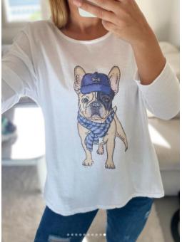 Camiseta manga larga Dog...