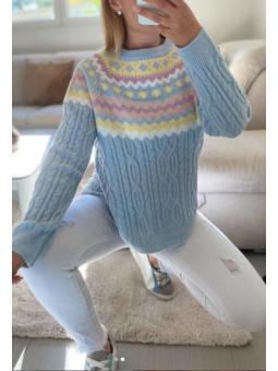 Suéter Azul celeste Chloe...