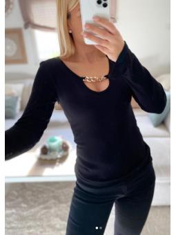 Camiseta Laura Negra...