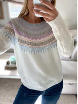 Suéter Victoria Blanco...