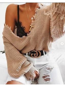 Suéter beige Emily