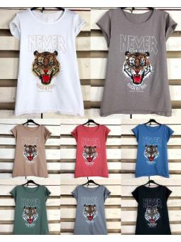 Camiseta león (ModB)
