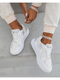 Zapatilla blanca mini...