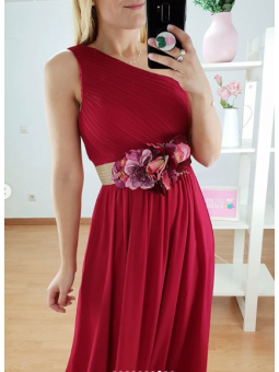 Vestido Grecia cherry...