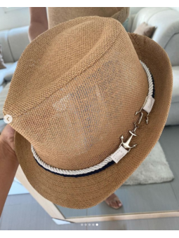 Sombrero Beige cordon...