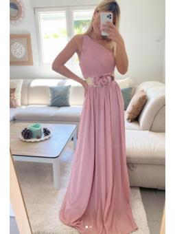 Vestido fiesta Grecia rosa...