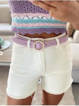 Pantalón corto Blanco RG1538-1