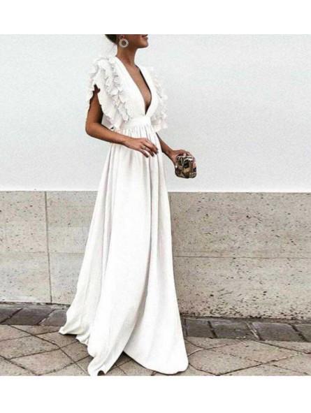 Vestido Creta blanco