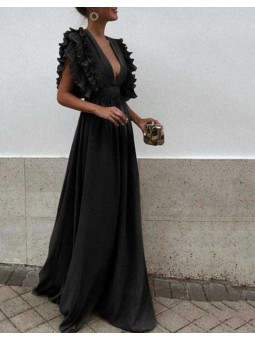 Vestido Creta negro