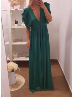 Vestido Creta verde