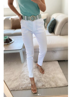 Pantalón Blanco basico mini...