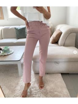 Pantalón Rosa + cinturón 11301
