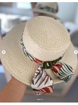 Sombrero Marfil pañuelo...