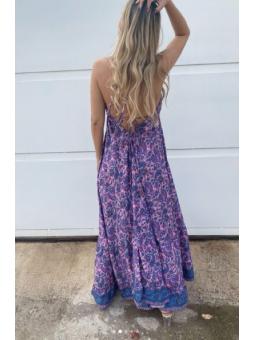 Vestido Stella  fondo lila...